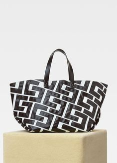 Celine Patchwork medium in textile and leather Celine, Purchase History, Footwear, Textiles, Handbags, Tote Bag, Medium, Mini, Leather
