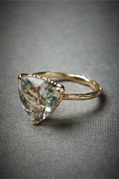 14 Non-Traditional Engagement Rings We Say YES to via Brit + Co