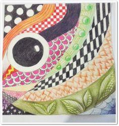 #Proceso técnica a mano  #ART #texturas #colores #lapices