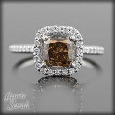 Chocolate Diamond Ring....I do love chocolate!!