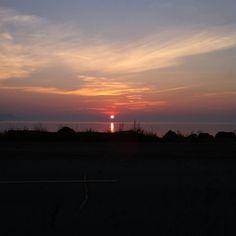 beautiful New Brunswick sunset