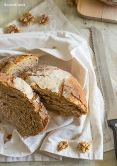 Pan con cerveza negra y nueces (sin masa madre)