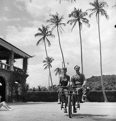 Walt Disney and Mary Blair in Rio de Janeiro | por Tom Simpson