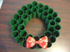 Share this:ToiletPaper Christmas Wreath – Blog Post #5 Hi friends! As you know from the previous Blog post, it's so hard to find anything Christmas related out here in Israel and Christmas just wouldn't seem complete without a wreath. So me and Lilly took to collecting more rolls from friends and got to work painting. …