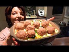 Ofen Hackbällchen mit Gnocchi und Gemüse Pampered Chef ® - YouTube