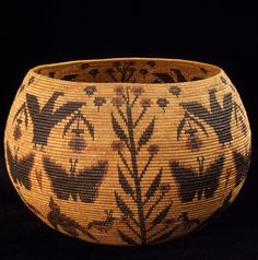 Art career[edit]. A basket made by Lucy Telles in the Smithsonian's National Museum of the American Indian.