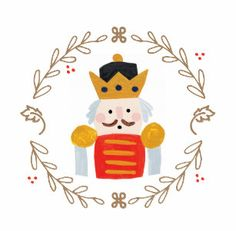 Shop for customizable Nutcracker Illustration clothing on Zazzle. Christmas Design, Christmas Art, Vintage Christmas, Christmas Decorations, Christmas Ornaments, Nutcracker Christmas, Nutcracker Image, Christmas Drawing, Christmas Embroidery