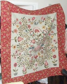 Buddy & Me: Where to Start .... Stevie's Garden quilt--gorgeous!