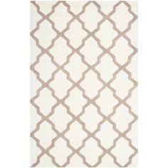 Safavieh Handmade Cambridge Ivory/ Beige Wool Rug (11'6 x 16')