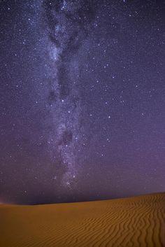 Part of the Milky Way as seen from the Sand Dunes near Santa Cruz de la Sierra, Bolivia