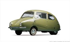 Bevan car!!!! Microcars worth big bucks at museum auction - 1956 Fuldamobil S-6 (17) - CNNMoney
