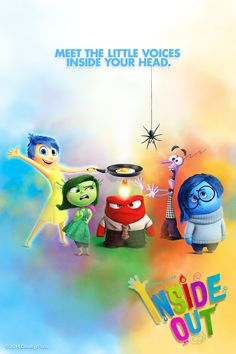 Best wallpaper gallery with Inside Out Disney/Pixar and HD wallpapers. We collected full High Quality pictures and wallpapers for your PC, Mac and Smartphones. Pixar Movies, Kid Movies, Disney Movies, Disney Pixar, Background Hd Wallpaper, Wallpaper Gallery, Inside Out Poster, Poster Disney, Inside Out Characters