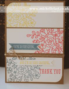 So Very Grateful stamp set from Stampin Up