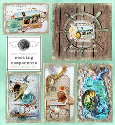 July Nesting Components Inspiration Board