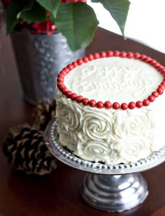Red Velvet Cheesecake Layer Cake  Layer Cake and Cheesecake in One!