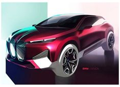Bmw Design, Car Design Sketch, Car Sketch, Audi, Porsche, Volkswagen Golf, Bmw Electric, Electric Utility, Bmw Concept Car