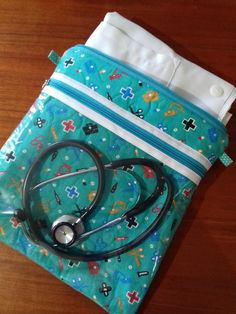 Stethoscope Case, Easy Sewing Patterns, Kit, Sewing Projects, Coin Purse, Patches, Pouch, Handmade, Crafts