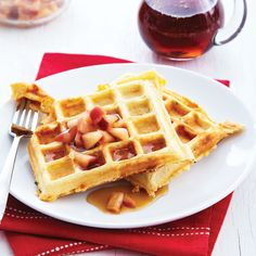 Meatless Monday + Waffle Day Recipe - Clean Eating