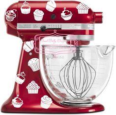 Items similar to Kitchen mixer vinyl decal set 40 piece CUPCAKE decal set on Etsy Kitchen Aid Decals, Cute Kitchen, Kitchen Aid Mixer, Kitchen Tools, Kitchen Gadgets, Kitchen Decor, Kitchen Appliances, Kitchens, Kitchen Ideas