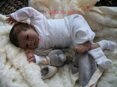 Adorable Reborn Doll  For Sale OOAK Reborn by CuddleMeSoftReborns, $500.00