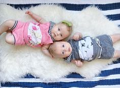 If I ever have twins I am having them wear these outfits!