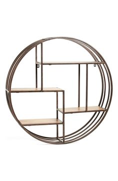 Fun art deco style wall rack