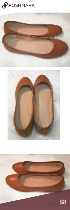 56a44f7eb80 Universal Thread size 6 brown flats This is a pair of Universal Thread  brown flats in · Brown FlatsLoafer ...