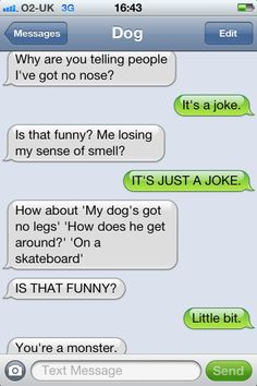 dog texts= best ever Funny Shit, Funny Dog Texts, Funny Text Fails, Cute Texts, Funny Text Messages, Funny Dogs, Funny Stuff, Funny Things, Random Stuff