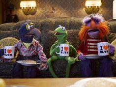 Gonzo, Kermit and Floyd