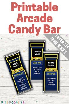 custom candy bar wrapper template.html