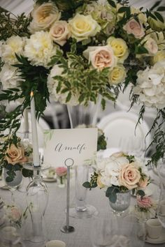 Classical English wedding at the beautiful Le Talbooth Marquee in Dedham, Essex. Wedding Gallery, Table Decorations, Beautiful, Home Decor, Interior Design, Home Interior Design, Dinner Table Decorations, Home Decoration, Decoration Home