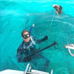 Catching a lionfish Sailing Trips, Thunderstorms, Grenada, Maya, Friends, Lightning Storms, Granada, Amigos, Maya Civilization
