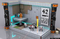 Portal Lego Set <3
