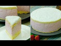 Tort cu mousse de căpșuni și fulgi de cocos – cel mai gingaș și aromat desert! - YouTube