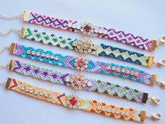 100均の刺繍糸で作れる☆王様のブランチで紹介された『ビジューミサンガ』がオシャ可愛い!