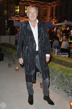 Le Figaro's Godfrey Deeny, photographed by Getty Images for Tory Burch at our party at Hôtel de Sully