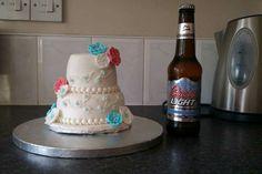 Mini 2 tier cake