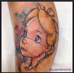 Tatuagem Alice
