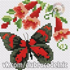 Cross Stitch Skull, Butterfly Cross Stitch, Cross Stitch Rose, Cross Stitch Animals, Cross Stitch Flowers, Cross Stitch Designs, Cross Stitch Patterns, Cross Stitching, Cross Stitch Embroidery