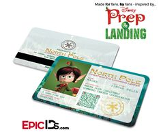 """Prep and Landing Inspired """"Magee"""" Command Center Elf ID"""