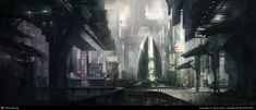City Underpass by James Paick | 2D | CGSociety