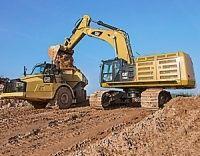 Excavatorul pe senile Cat 374F L. Excavatoare pe senile - Bergerat Monnoyeur Romania. Solicita Oferta Online!