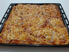 Egy szuper alaprecept, bármilyen feltéttel :) Ciabatta, Lasagna, Macaroni And Cheese, Ethnic Recipes, Food, Lasagne, Mac And Cheese, Meal, Eten