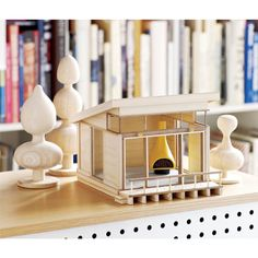 Mid modern miniature house from CB2