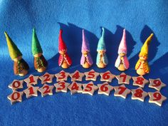 Princess Waldorf, Montessori, Math Gnomes. $25.00, via Etsy.