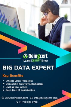 Accelerate your career in Big Data! Become an advanced expert with Beingcert certification! for more details visit: #bigdata #datascience #machinelearning #technology #ai #artificialintelligence #data #iot #analytics #dataanalytics #deeplearning #python #tech #innovation #business #programming #cloudcomputing #cloud #blockchain #datascientist #coding #software #automation #beingcert #datavisualization #businessintelligence #cybersecurity #datamining #bigdataanalytics #dataanalysis Coding Software, Data Processing, Business Intelligence, Deep Learning, Data Analytics, Cloud Computing, Data Science, Big Data, Data Visualization