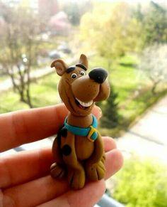 Scooby Doo en porcelana