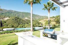 Outdoor Grill BBQ Pool - Villa Luxury Life Wedding Travel Real Estate Zagaleta www.bookmylifestyle
