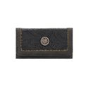 Bandana by American West Guns And Roses Flap Wallet