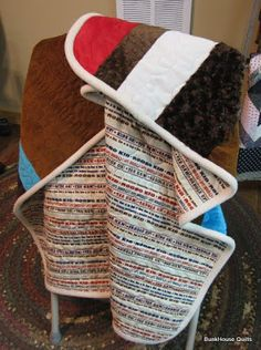 The BunkHouse: Fleece Binding tutorial